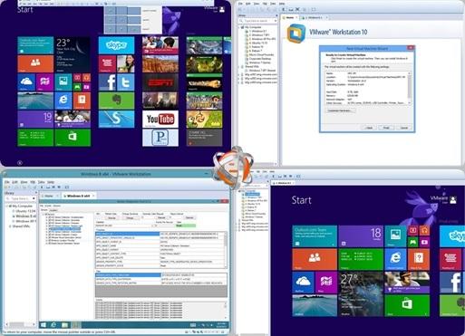 VMware Workstation v10.0.3 Build 1895310