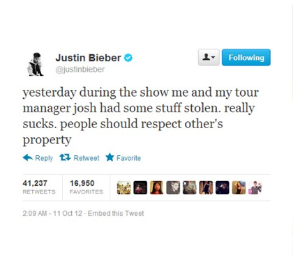 Se filtran fotos de la Bieberconda Lklk