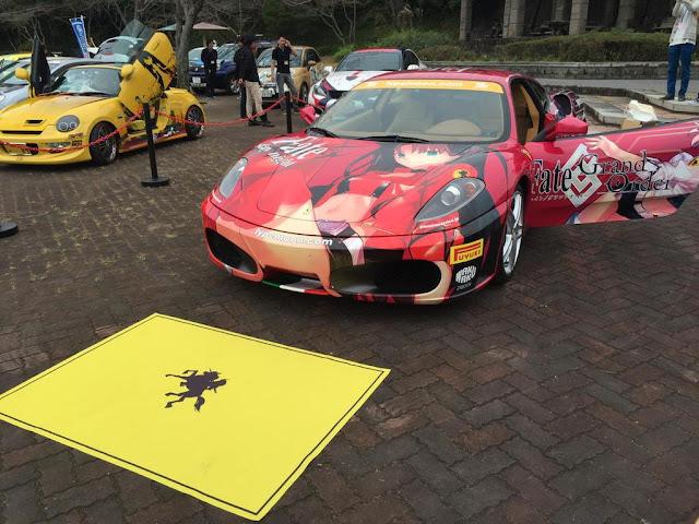 Ferrari F430 z motywem Fate/stay night