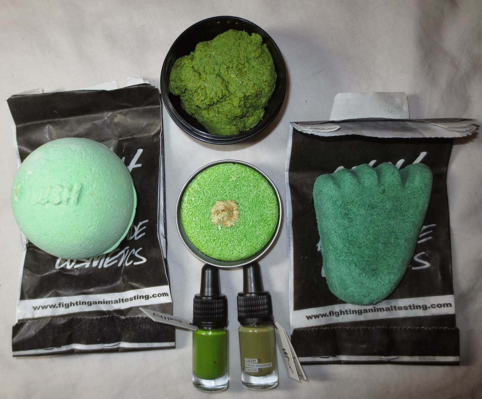 Getting Green for St. Patrick's Day with Lush!