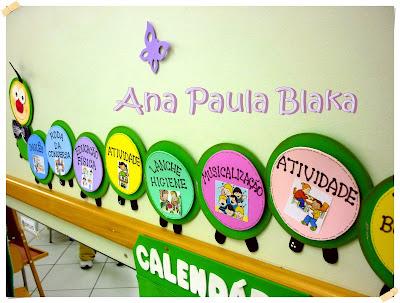 Coisas da ana paula painel para rotina de sala de aula e for Mural de fotos 1 ano