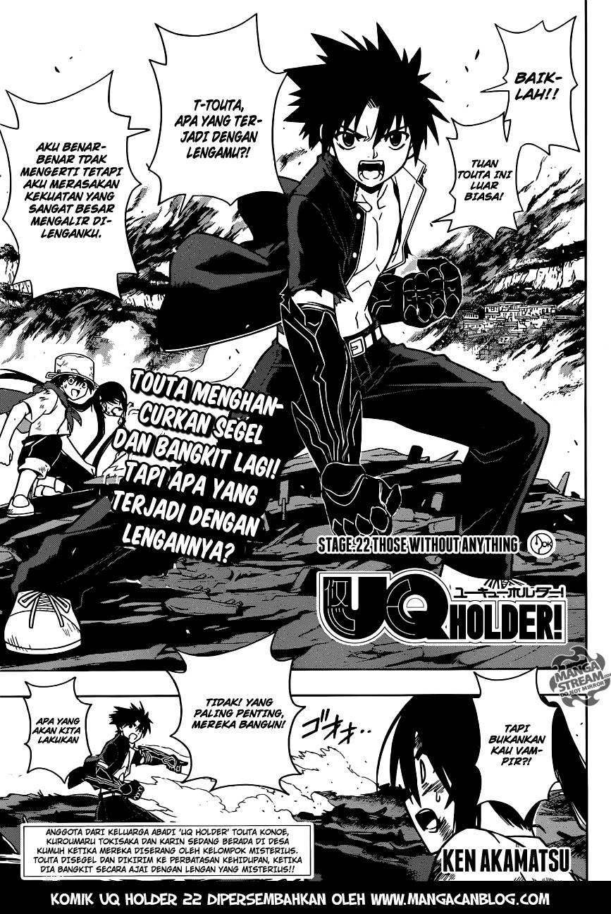 Dilarang COPAS - situs resmi www.mangacanblog.com - Komik uq holder 022 - those without anything 23 Indonesia uq holder 022 - those without anything Terbaru |Baca Manga Komik Indonesia|Mangacan