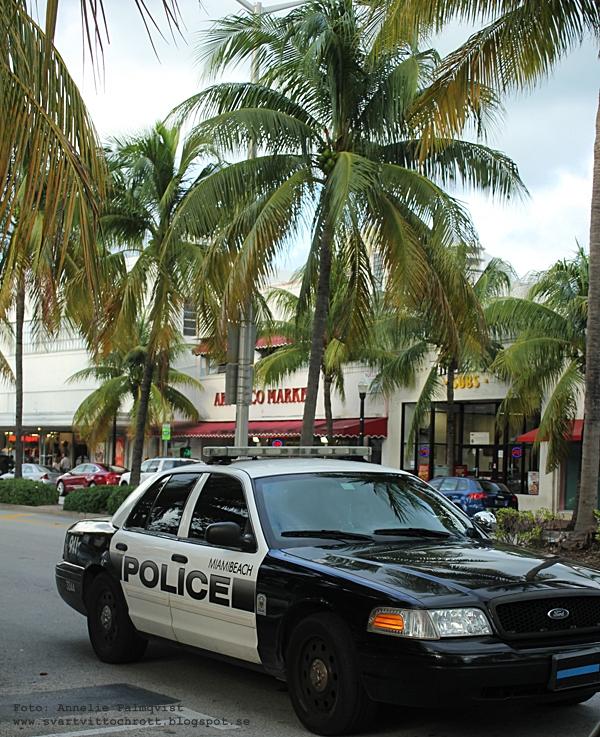 polisbil i Miami, Florida,