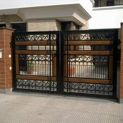 ... designs latest.: Modern homes iron main entrance gate designs ideas