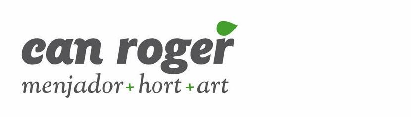 Can Roger, menjador+hort+art