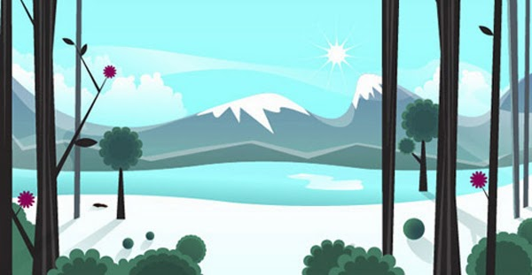 Creating an Icy, Vector Landscape