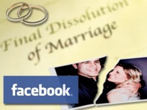 Facebook causes divorce problem