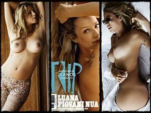 Luana Piovani Pelada Na Revista Trip De 2011