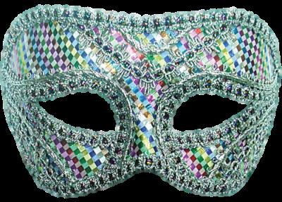 Máscara Carnaval PNG - Brilhantes coloridos
