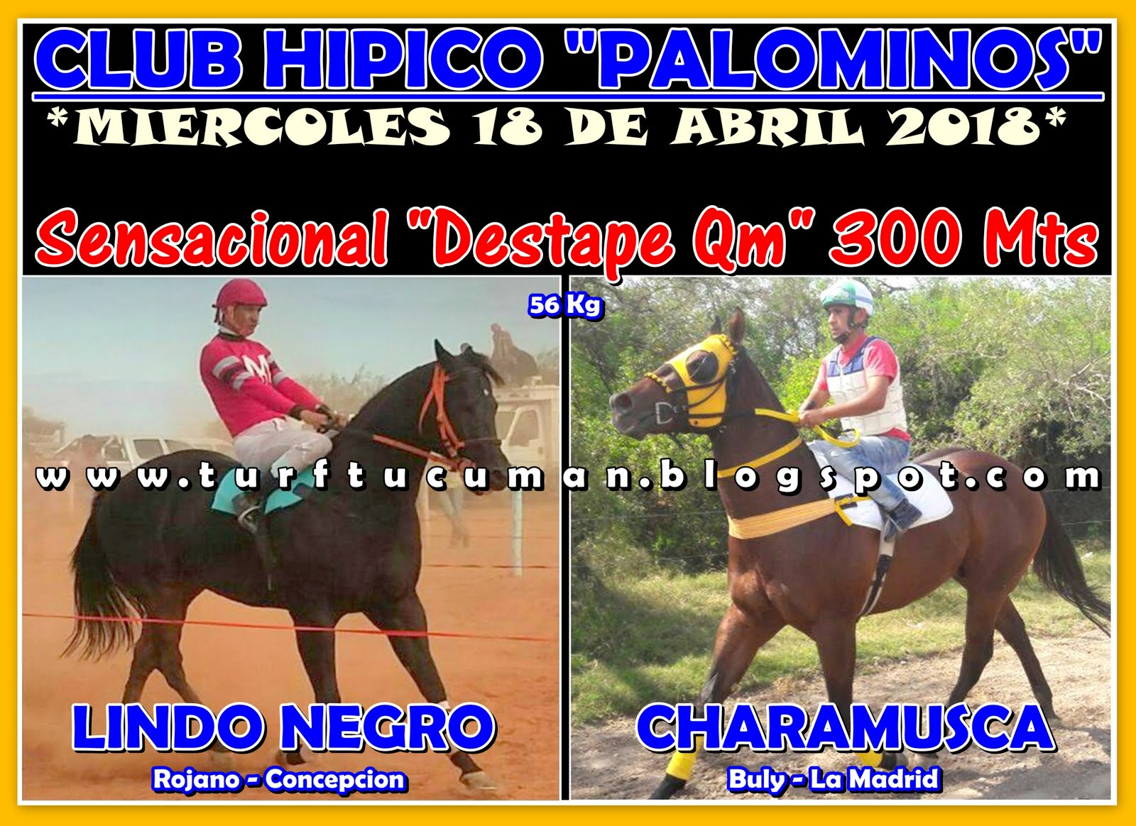 LINDO NEGRO VS CHARAMUSCA