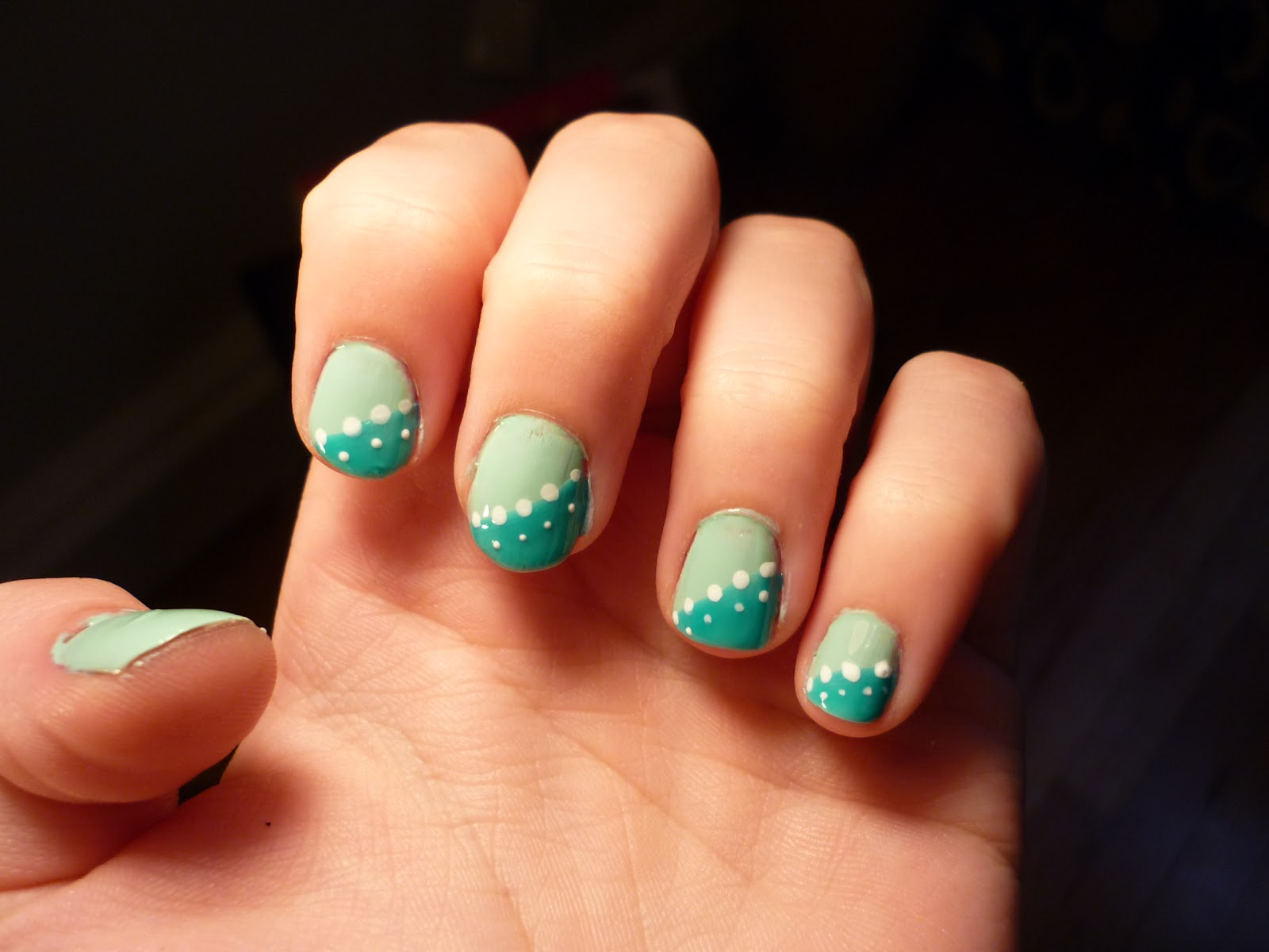 It 39 s a girl thing adorable quick and easy step by step nail design tutorial - Easy nail design ideas to do at home ...
