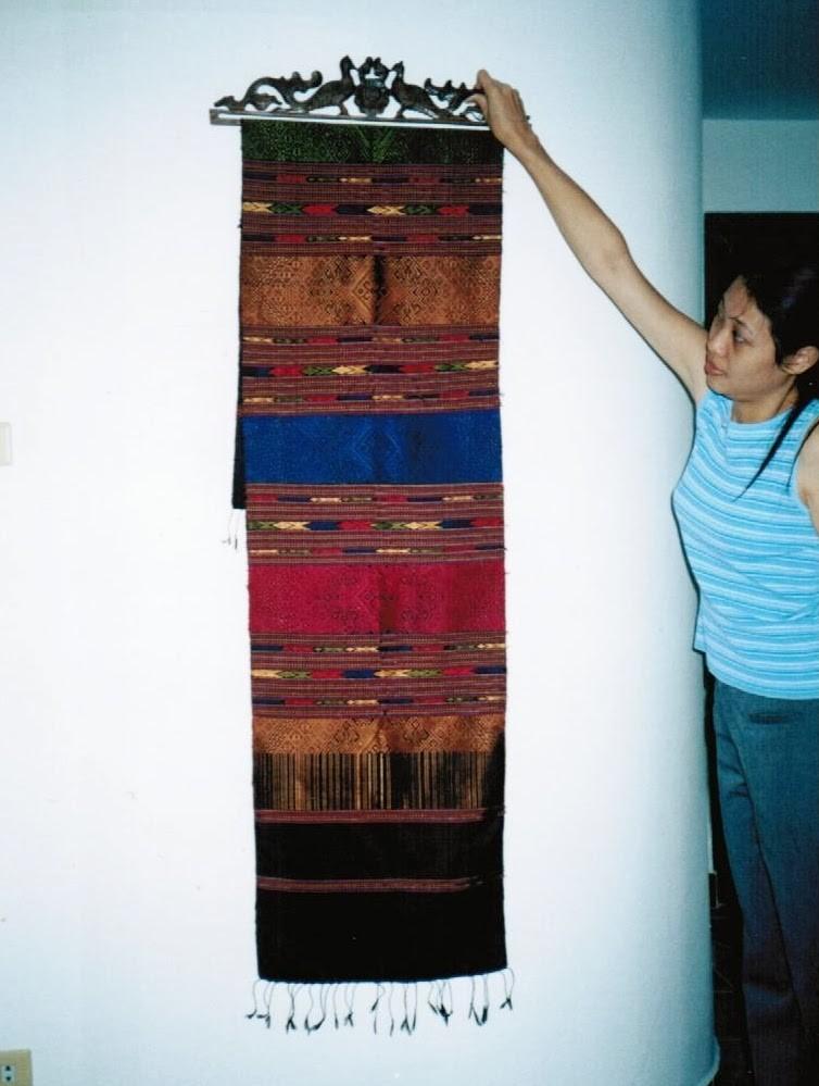 Silk Buys in Laos
