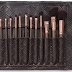Rose Gold Brush Set 15 pcs