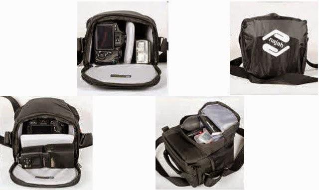 Tas yang cocok untuk kamera DSLR >> Model baru