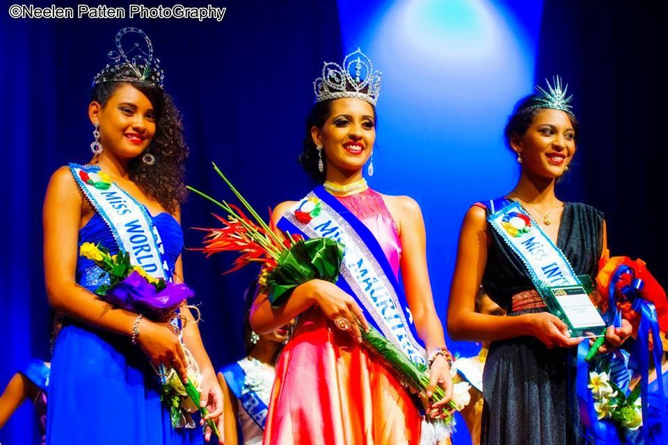 Miss Mauritius 2014 2015 winner Khusboo Ramnawaj