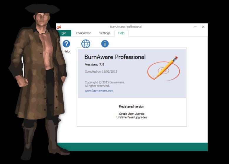 BurnAware professional v7.9 Final Incl Crack Screenshot