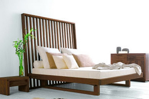 [An eco-style bed]