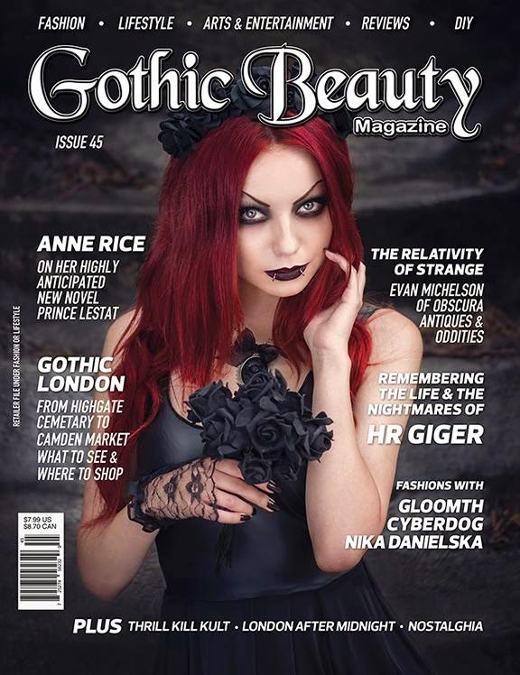 Gothic Beauty Issue 45 Pre-Order Up!