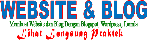 ILMU WEBSITE DAN BLOG | » Blogspot, Wordpress dan Joomla » Gratis Online