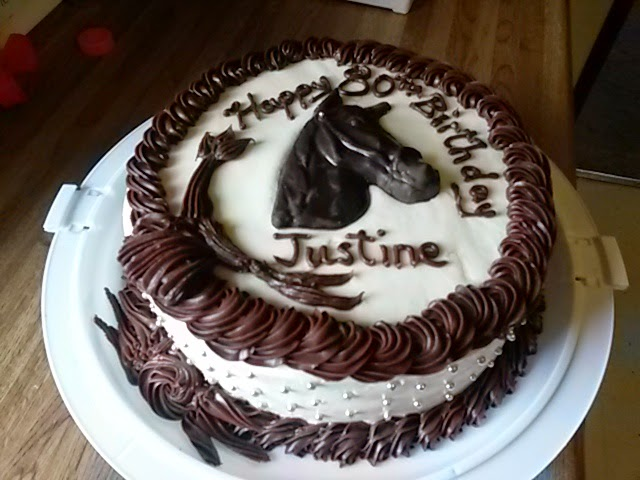 Cakes By Brenda Great Falls Montana Justine Horse Birthday Cake 2 15