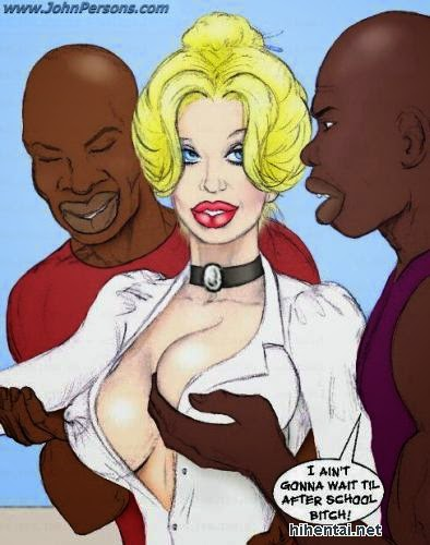 John PersonsWhite Slut TeacherInterracial  Porn Comics