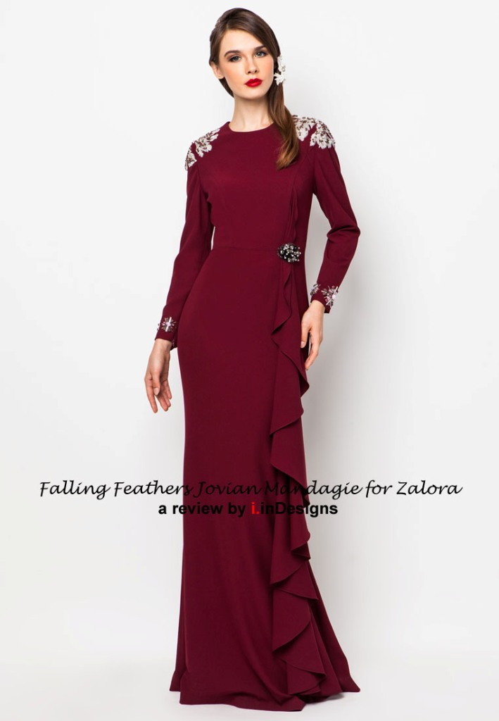 Falling Feathers by JM for Zalora Awesome Baju Hari Raya