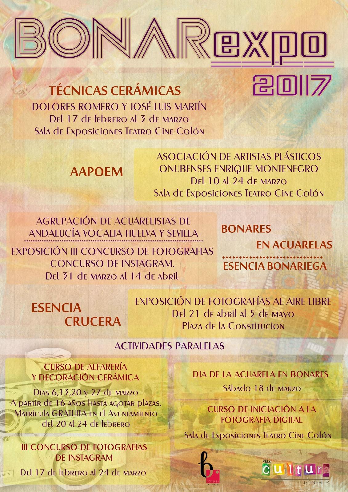 BONAREXPO 2017 - PROGRAMACIÓN
