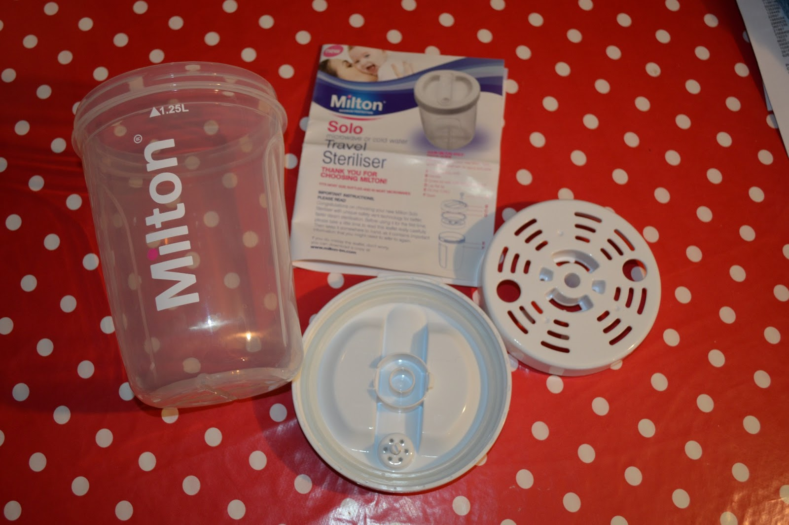 milton microwave steriliser instructions