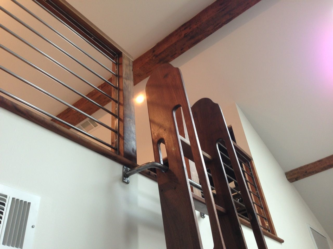 This Old Wood Save Space With Style Custom Crafted Ladders