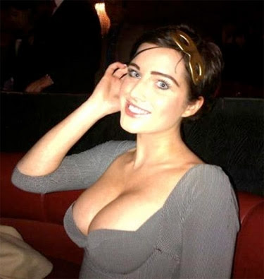 Helen Flanagan big cleavage