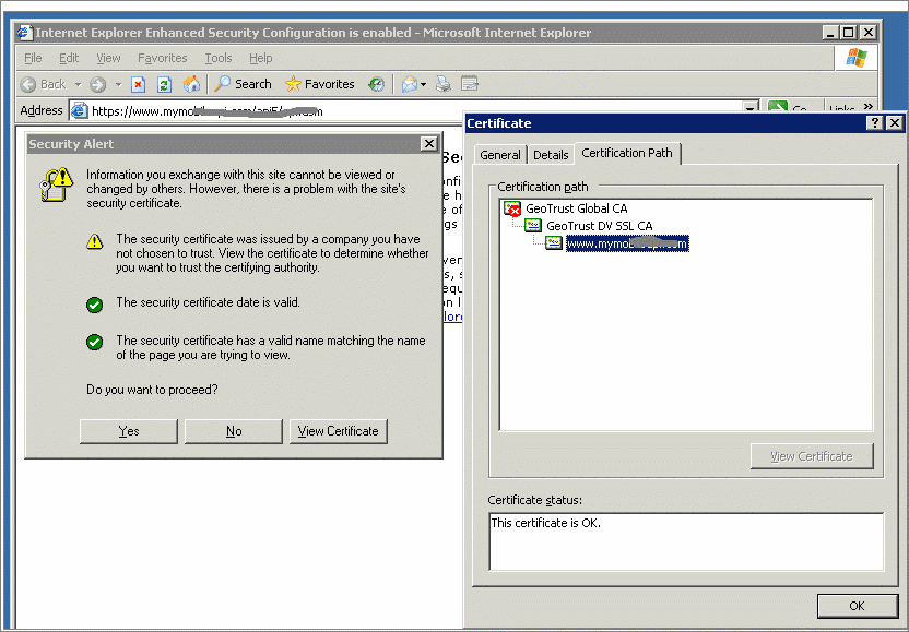 Fix my IT system: Windows Server 2003 trusted root certificate ...