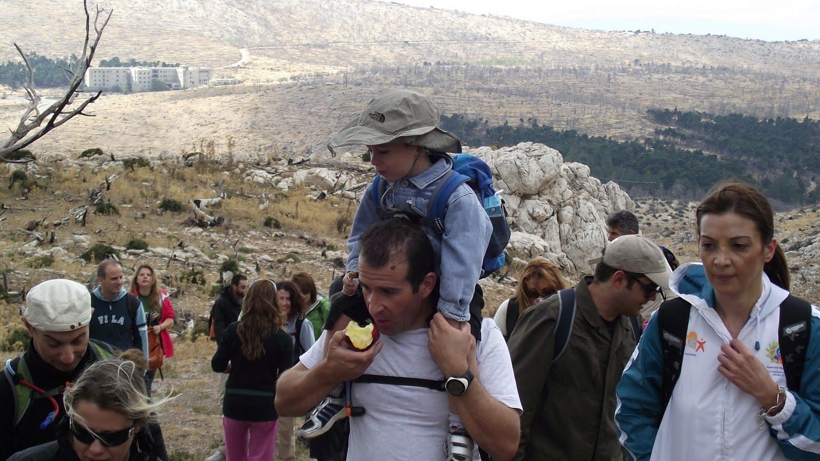 Ο πιο μικρός ορειβάτης της παρέας