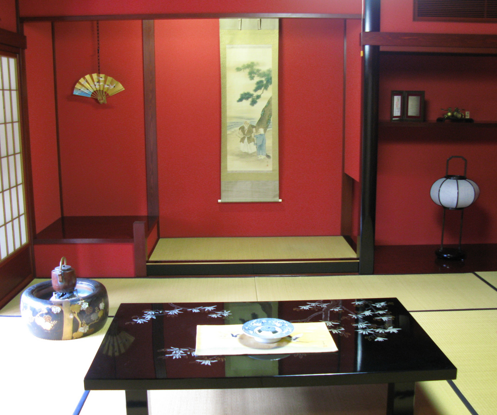 Japanese interior design interior home design for Room interior decoration