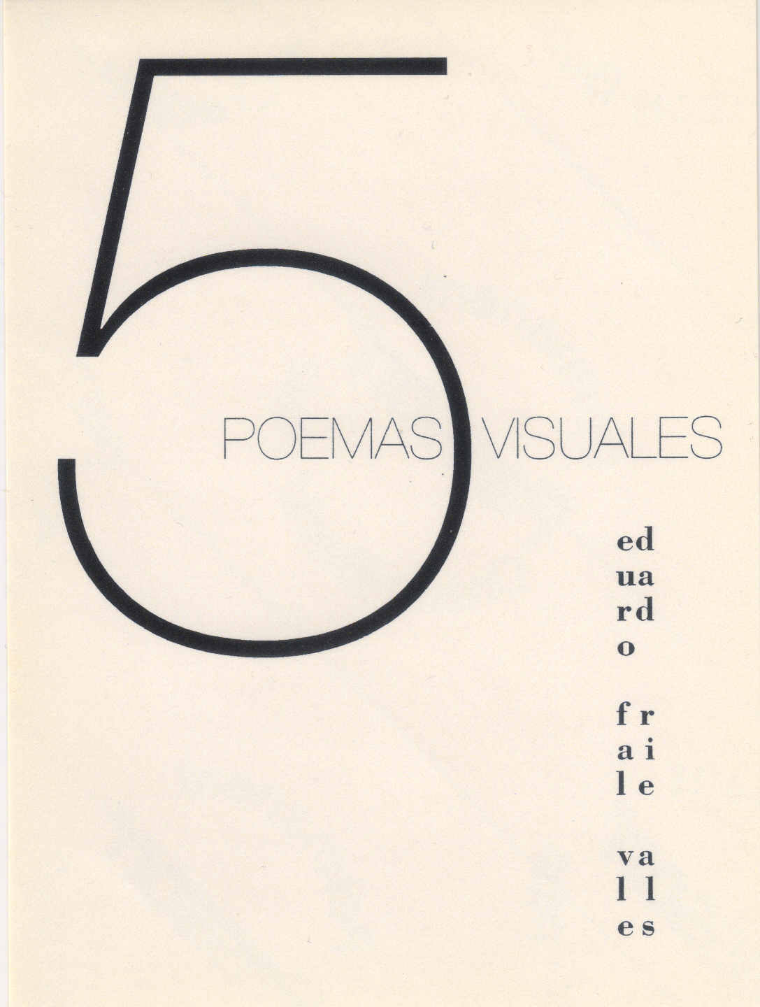 5 poemas visuales