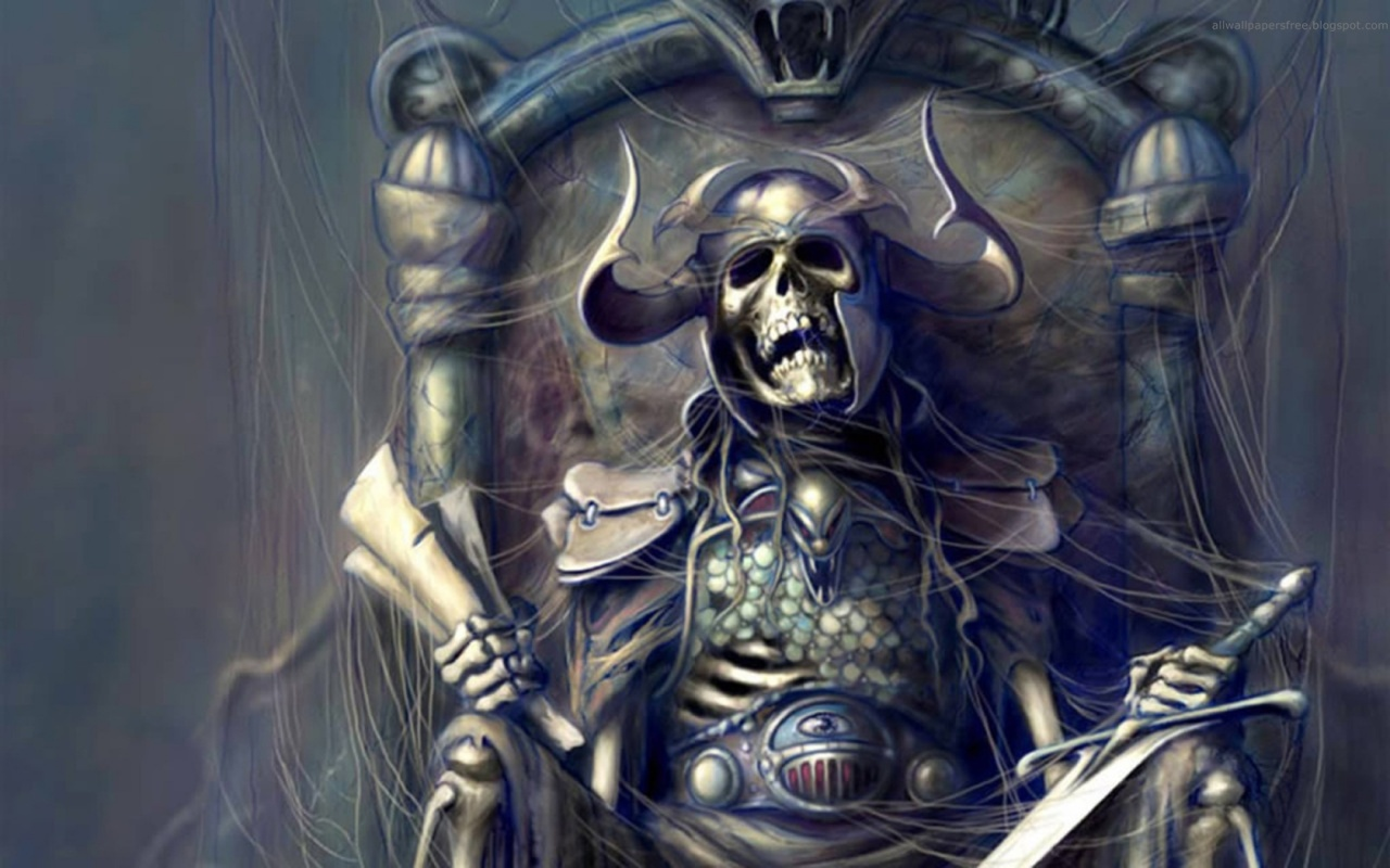 Skeleton King with the Map || Top Wallpapers Download .blogspot.com