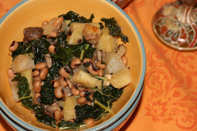 Kale Eggplant Stew