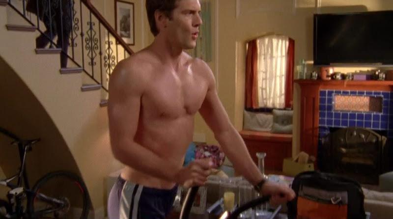 Ryan McPartlin Shirtless on Chuck s4e13