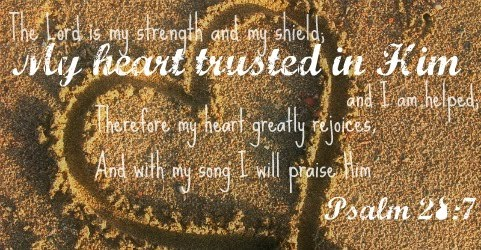 My Heart Trusted In Him