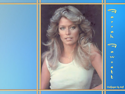 American Actress Farrah Fawcett Wallpaper