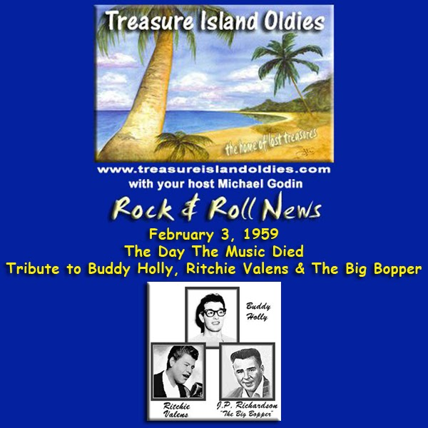 Treasure Island Oldies: Tribute to Buddy Holly, Ritchie ...