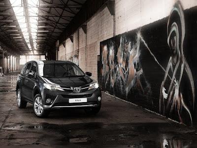2013 Toyota RAV4-EU Version Front Angle