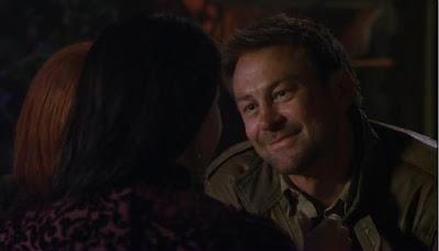 Defiance pilot recap Grant Bowler Nolan smile flirt bar brothel