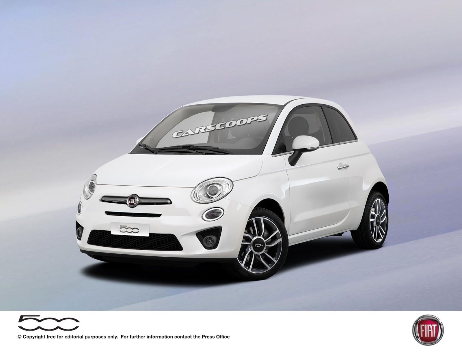 2016 fiat 500 facelift leaks ahead of ny auto show debut today. Black Bedroom Furniture Sets. Home Design Ideas