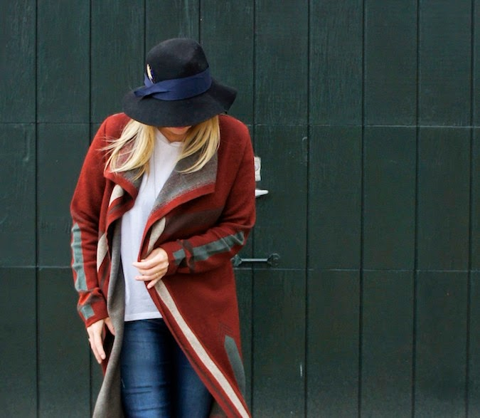 Peruvian Connection sweater coat, what to wear in boston, fall sweater coats