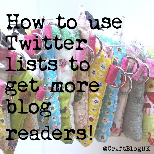 Craft blog uk tips for selling craft online find followers use grow your network and discover people to follow using twitter lists solutioingenieria Images