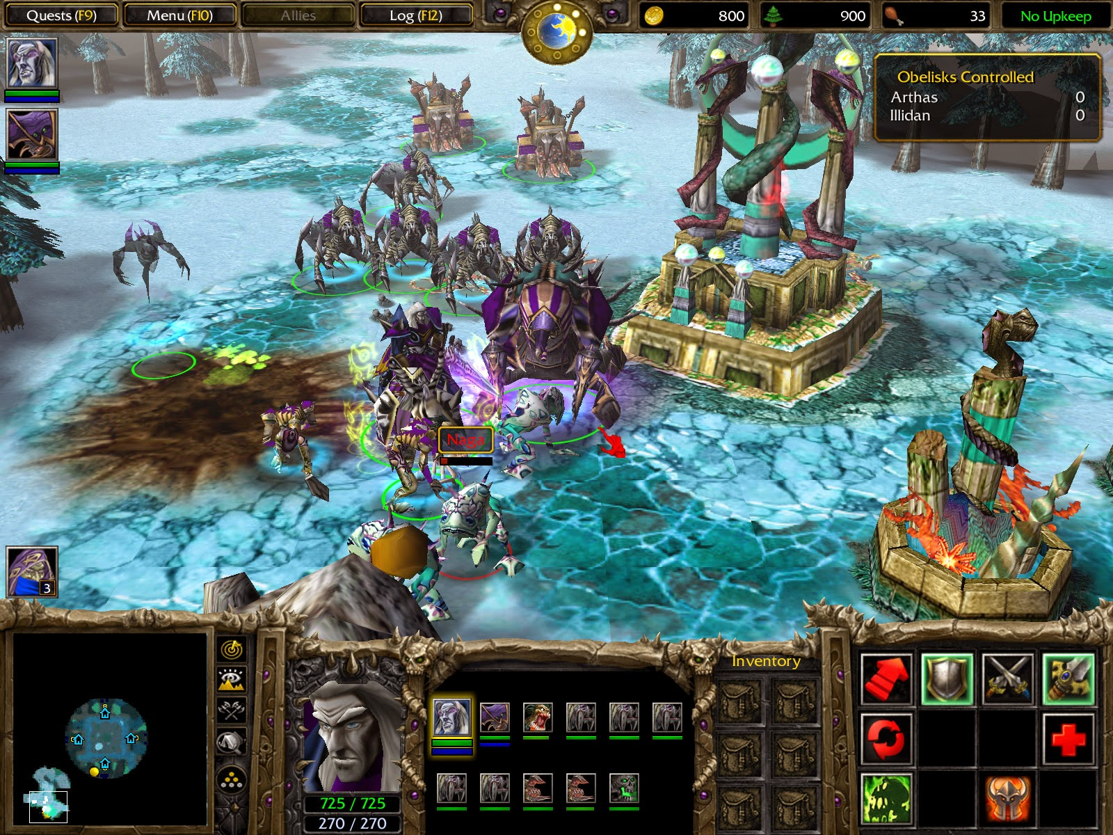Free Download Warcraft III Frozen Throne Full Version