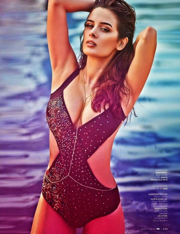 Evelyn Sharma Hot Bikini Photos