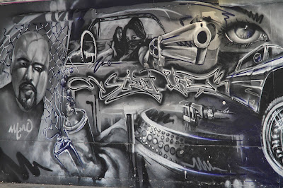 """Southbank """"Street Life"""" Panel"""