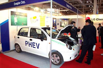 Пневмоэлектрический гибрид Energine PHEV