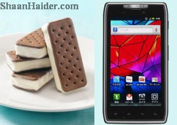 List of Motorola Smartphones Getting Android 4.0 Ice Cream Sandwich Update